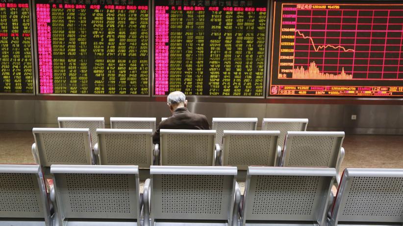 Börsenhandel: Der Aktienhandel an Chinas Börsen wurde am 4. Januar erstmals ausgesetzt.