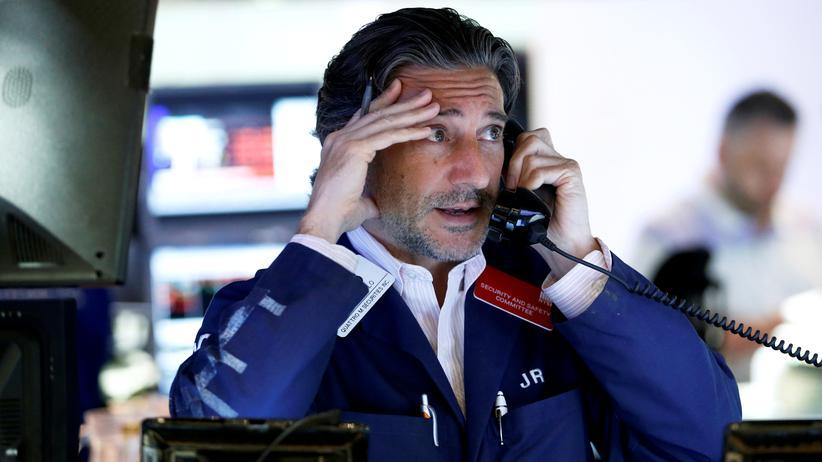 Finanzmärkte: Ein Börsenhändler in New York am Tag nach der Brexit-Abstimmung
