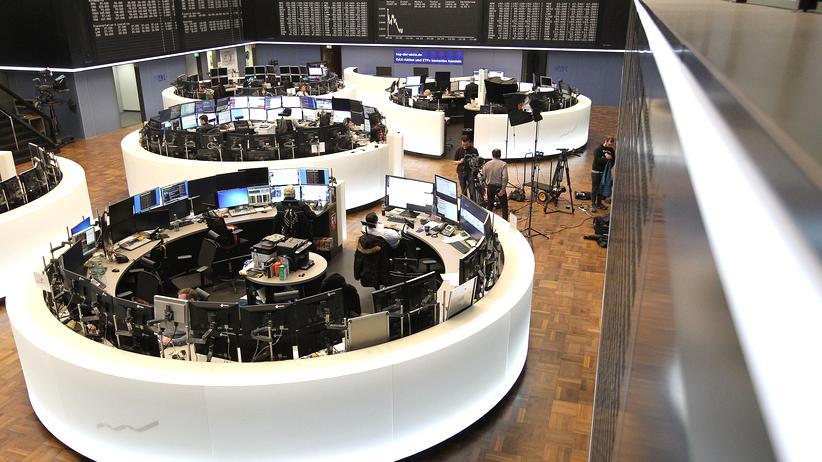 Börse: Händler in der Frankfurter Börse