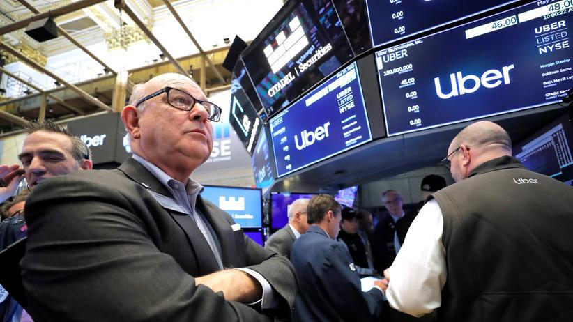 Aktienmarkt: Uber nach Börsenstart mit Verlusten