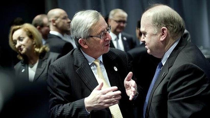 Finanzminister: Euro-Zone erweitert Rettungsfonds auf 800 Milliarden