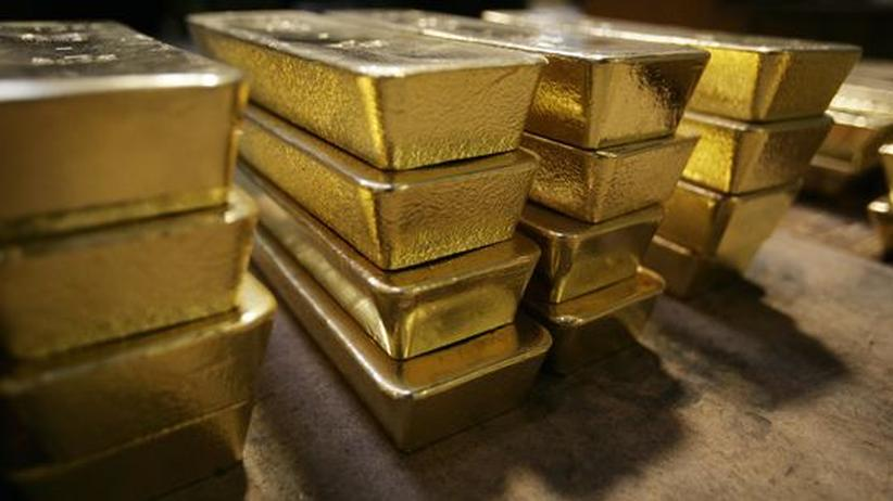 Schweizer Goldbarren