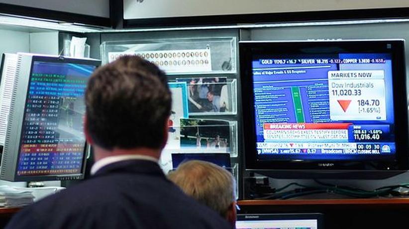 Spekulant an der Börse