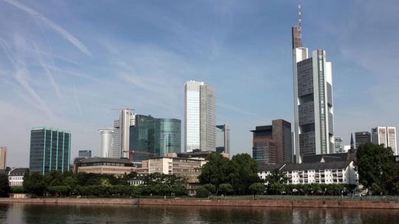 Vermögen: Die Banktürme von Frankfurt am Main. Die Family Offices residieren diskreter
