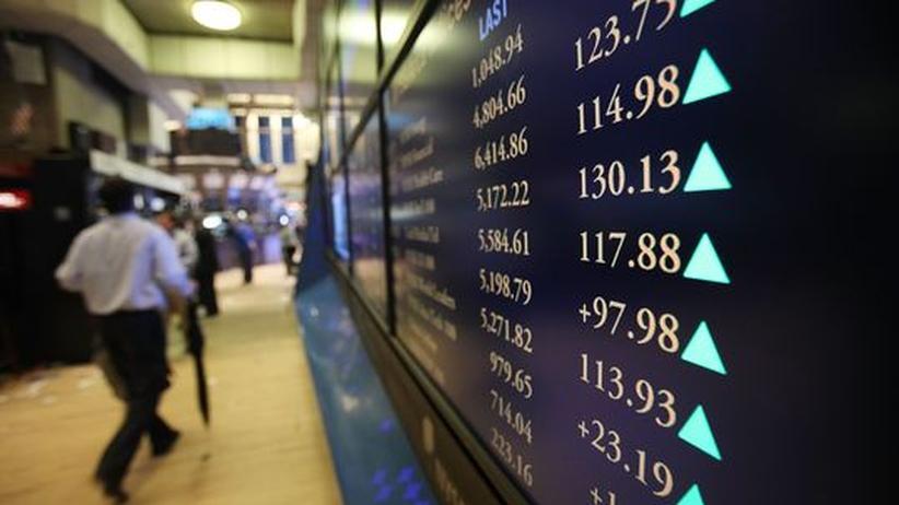Tempo: Händler an der New Yorker Börse