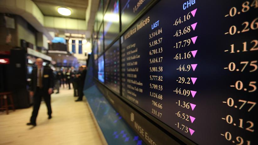 Nach dem Beben: Die Börse ist nicht einfach nur zynisch