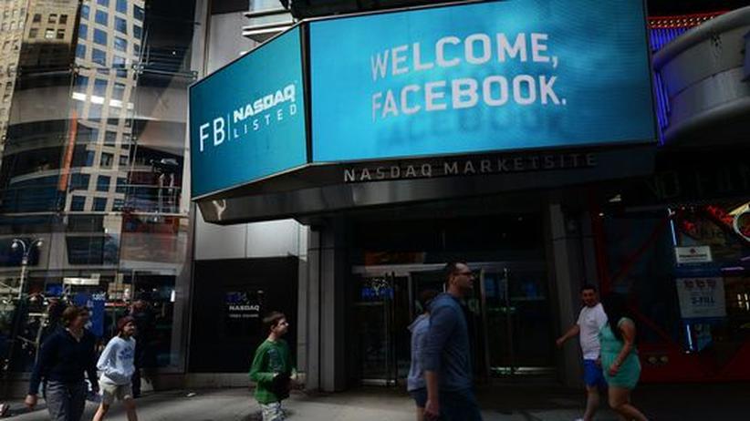Verpatzter Börsengang: Facebook-Aktie stürzt weit unter Ausgabepreis
