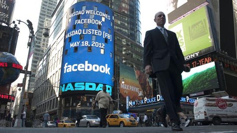 Börsengang: Facebook-Aktie enttäuscht beim Börsendebüt