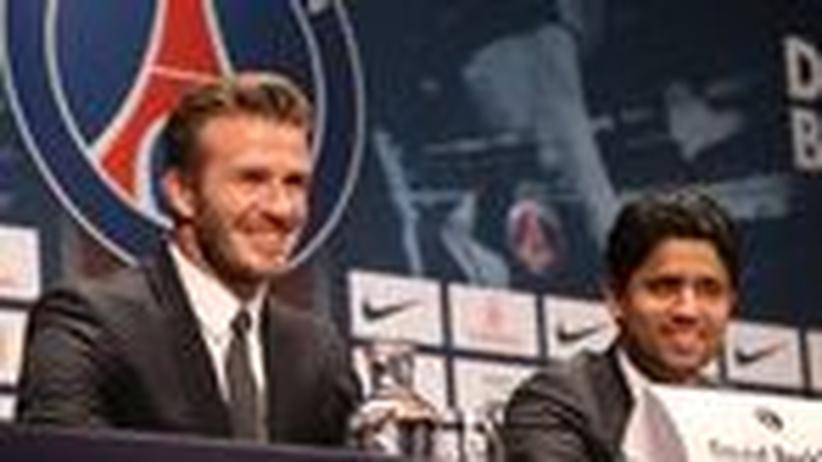 Katar und Frankreich: Mit Beckham Verbündete kaufen