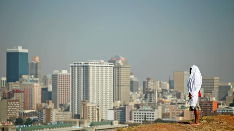 Blick ins Chefbüro der Börse in Botswana