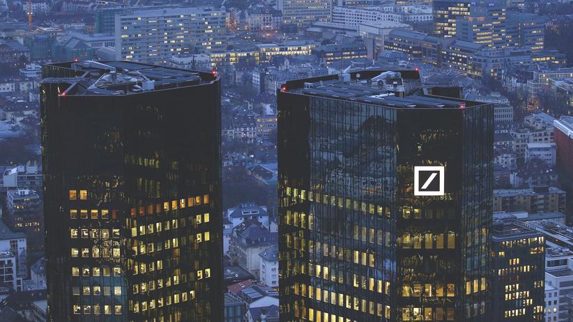 Der Sitz der Deutschen Bank in Frankfurt