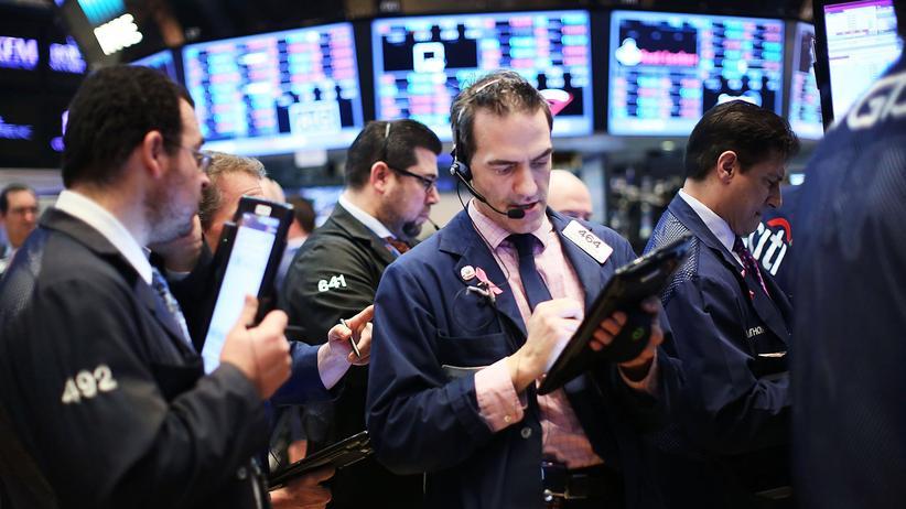 Finanzkrise: Das Handelsparkett an der New Yorker Börse