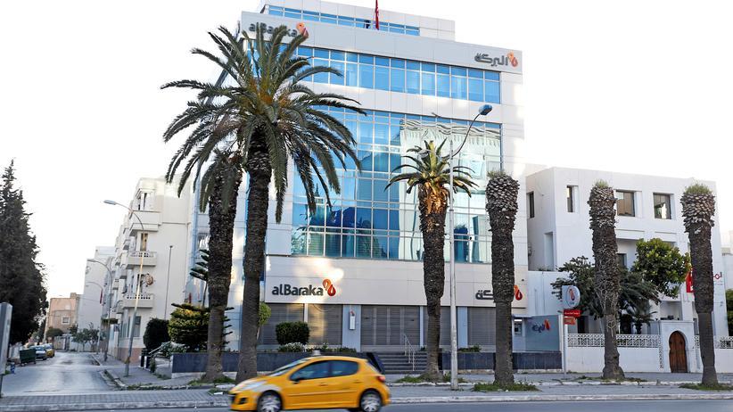 Fintech Insha: Eine Filiale der Bank Albaraka in Tunesien