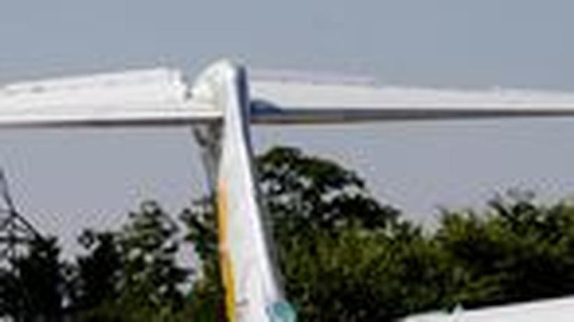 Ein British-Airways-Flugzeug landet in Madrid