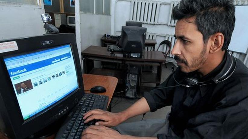 Afghanischer Facebook-Nutzer