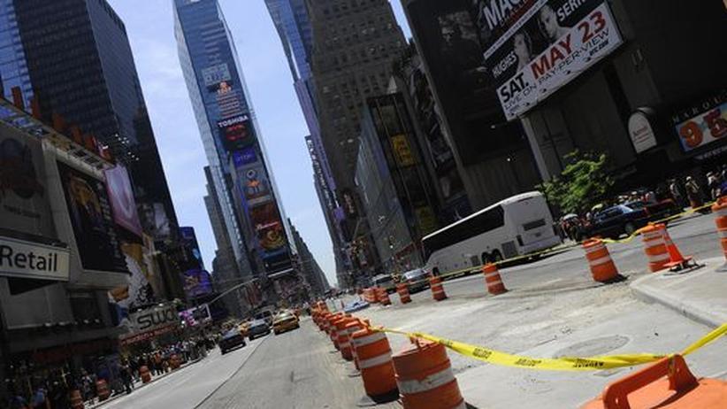Strafverfolgung: Manhattan, New York: In den kommenden Monaten könnte eine Anklageschrift der New Yorker Staatsanwaltschaft dem Image der Deutschen Bank schaden