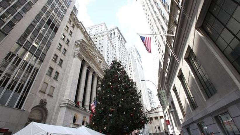 Wall Street: Weihnachten an der Wall Street: Die Banken zahlen dem Staat Hilfsgelder zurück