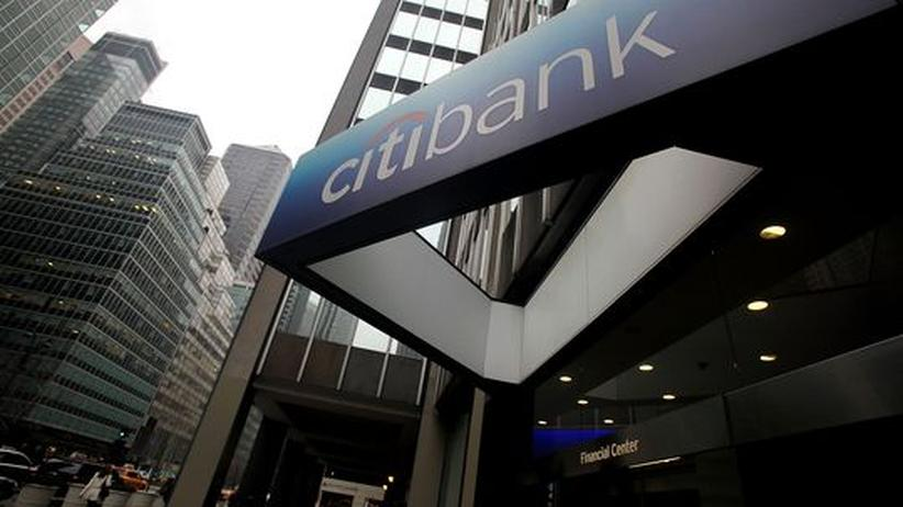 Koloss: Filiale der Citigroup in New York