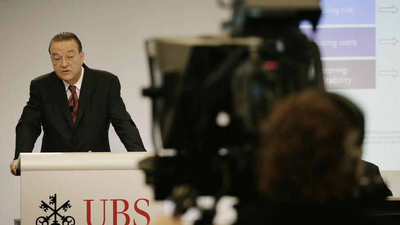 Chef der UBS: Oswald Grübel, der umtriebige Reformer