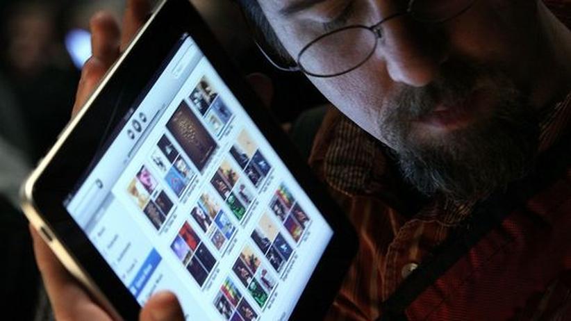 Nutzer mit iPad