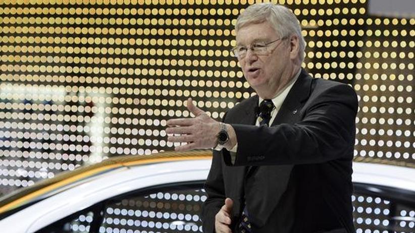 Autoindustrie: Opel-Chef Nick Reilly auf dem Genfer Autosalon Anfang März