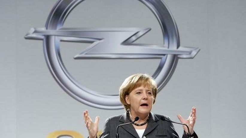 Staatshilfe: Merkel hält sich Opel-Entscheidung offen