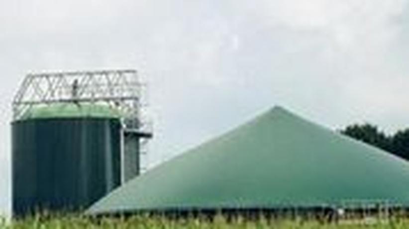 Die Biogasanlage von Hubert Loick