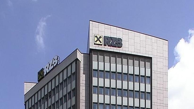 Raiffeisen-Zentralbank in Wien: Die RZB Österreich AG war im September 2009 das drittgrößte Bankeninstitut Österreichs
