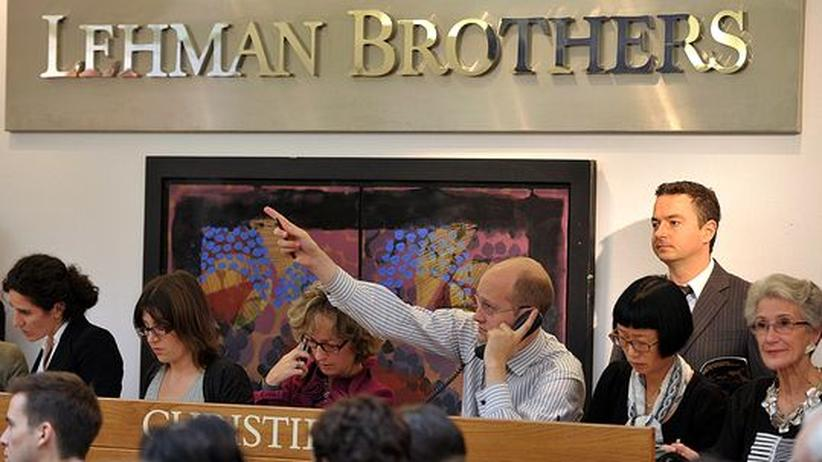 Pleitebank: Auktionshäuser versteigern Lehman-Interieur
