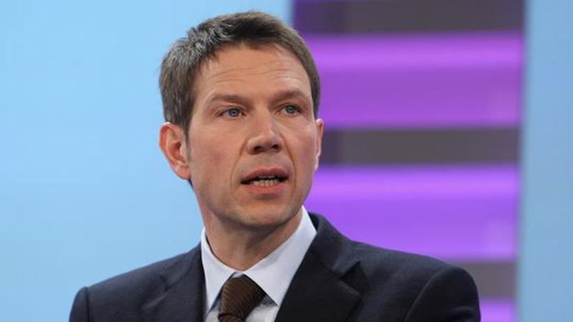 Korruptionsermittlungen: Telekom-Chef René Obermann im Frühjahr vergangenen Jahres, während der Präsentation der Bilanzzahlen seines Konzerns