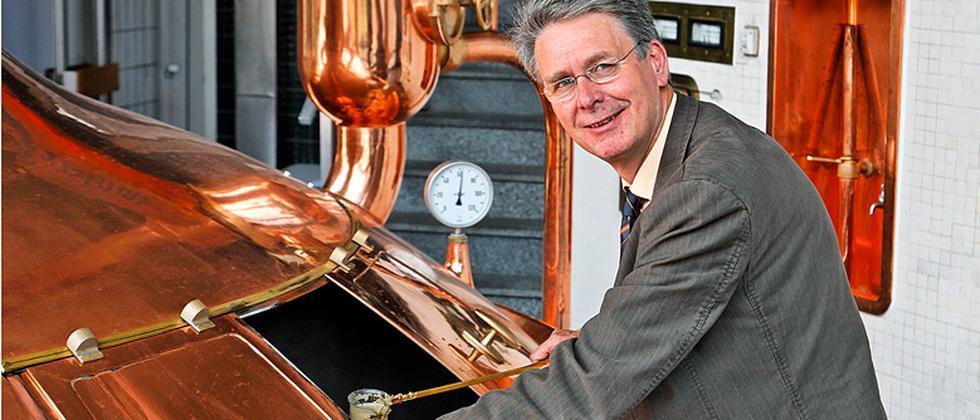 Lammsbräu-Chef Franz Ehrnsperger