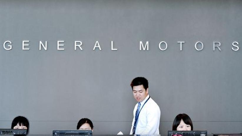 Die GM-Zentrale in Shanghai: Künftig will der Konzern ein großer Player auf dem chinesischen Markt werden