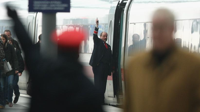 Bahnstreik: Die Weiterfahrt verzögert sich