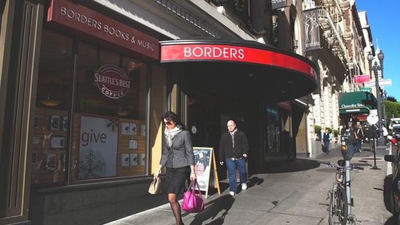 Online-Konkurrenz: Zweitgrößte US-Buchhandelskette Borders ist insolvent