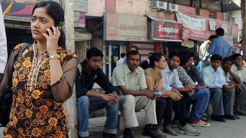 Hunger auf Konsum: Junge Inder in Neu Delhi