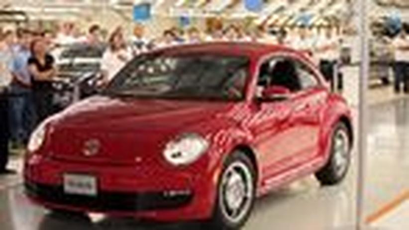 Autokonzerne: Volkswagen soll der Größte sein