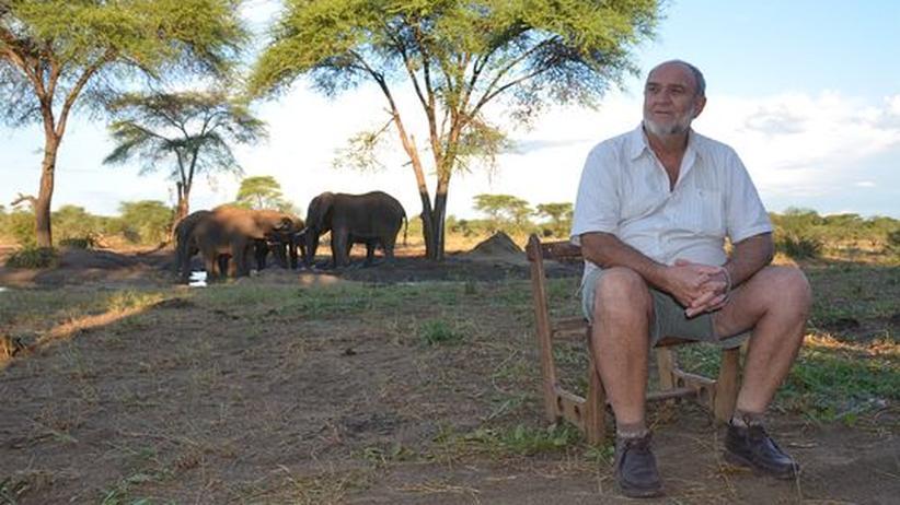 Tourismus-Unternehmer: Louw Barnard in seinem Senyati Safari Camp in Botsuana