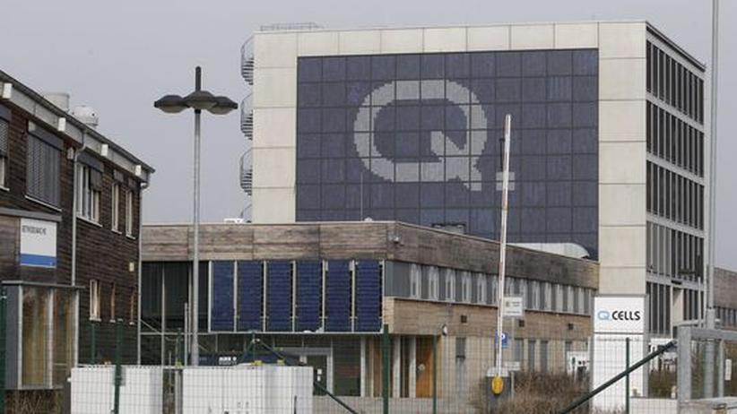Q-Cells-Hauptsitz in Bitterfeld