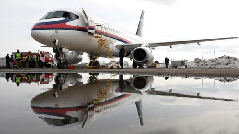 Superjet-Absturz: Ein schwerer Schlag für Russlands Flugzeugindustrie
