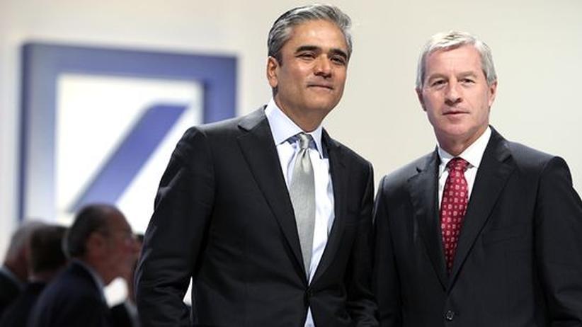 Strategie: Jain und Fitschen wollen die Deutsche Bank umkrempeln