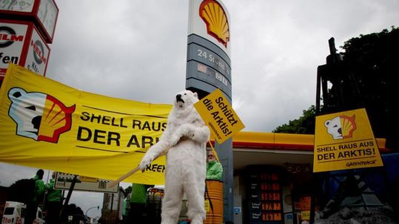 Fossile Brennstoffe: Shell verschiebt Bohrungen in der Arktis