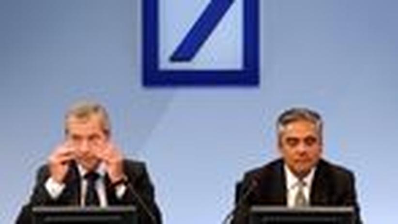 Deutsche Bank: Sind Fitschen und Jain die Richtigen für 2013?