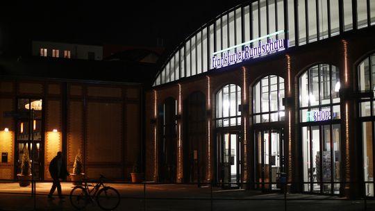 """Das Redaktionsgebäude der """"Frankfurter Rundschau"""""""