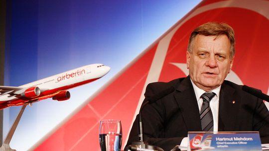 Der ehemalige Air-Berlin-Vorstand, Hartmut Mehdorn