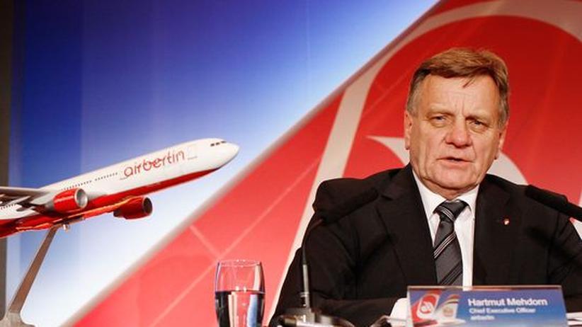 Rücktritt: Airberlin-Chef Mehdorn tritt ab