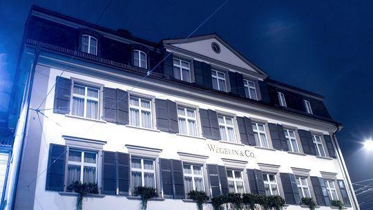 Der Hauptsitz der Wegelin Bank in St. Gallen