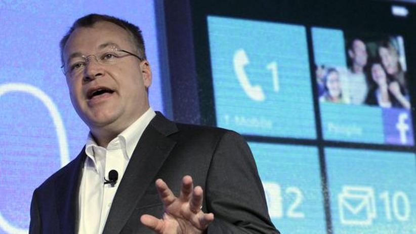"""Nokia-Chef Stephen Elop: """"Das musste sein"""""""