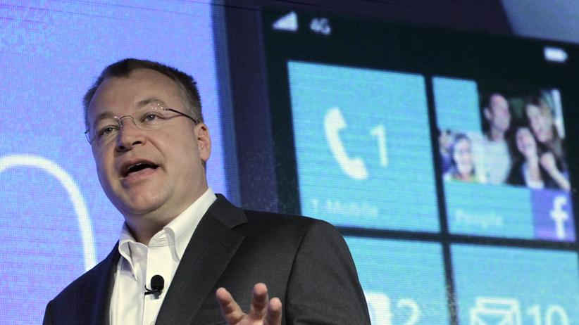 """Nokia-Chef Stephen Elop: """"Die Sanierung musste sein"""""""