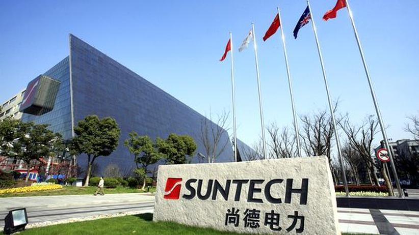China: Solarhersteller Suntech ist pleite