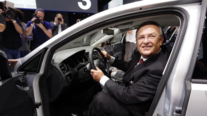 """VW-Chef Martin Winterkorn: """"Wir wollen am Wachstum Chinas teilhaben"""""""